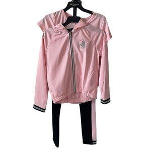 Girls Body Glove 3 pc set, shirt, pants, hoodie 7